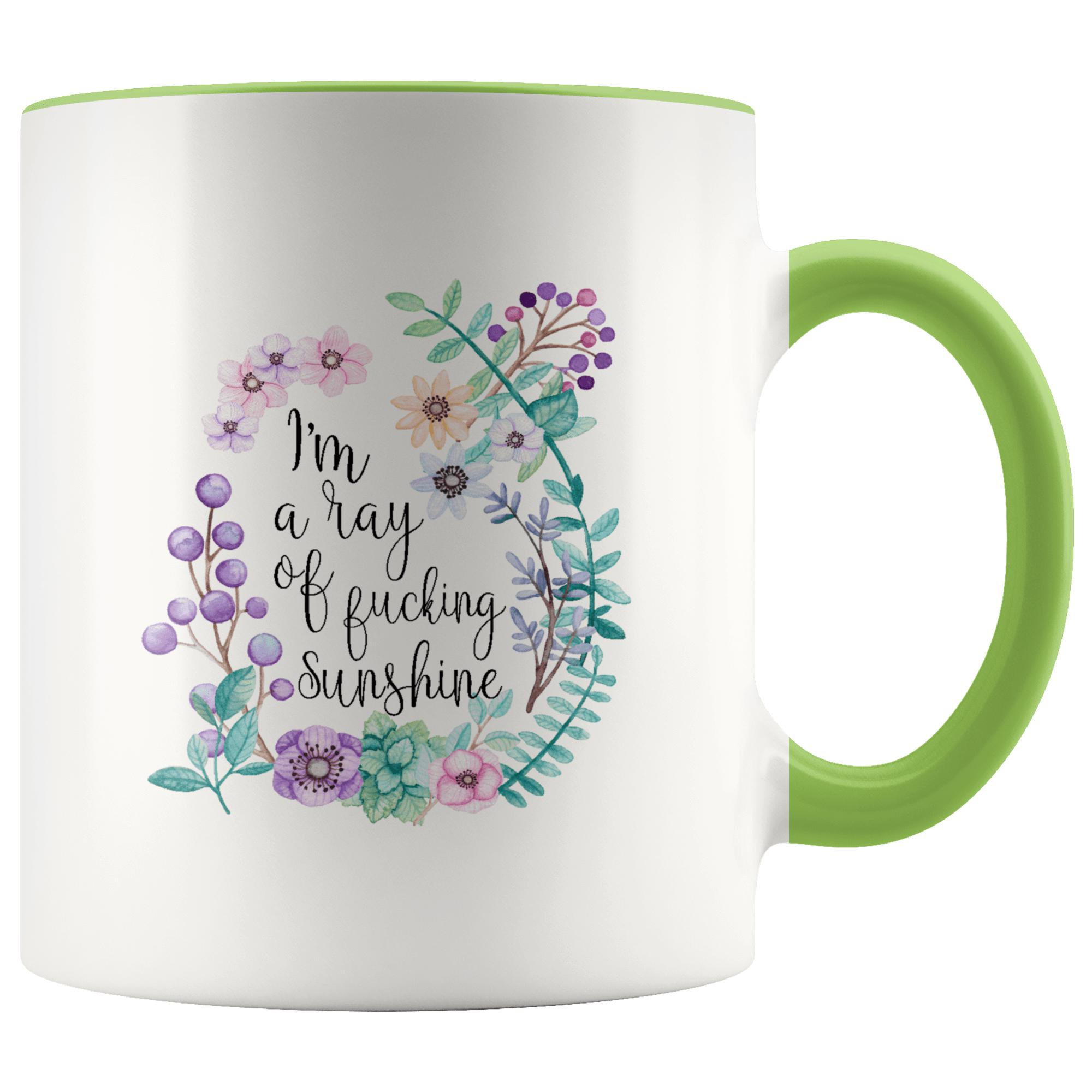 Rude Mugs - I'm A Ray Of Fucking Sunshine Mug..