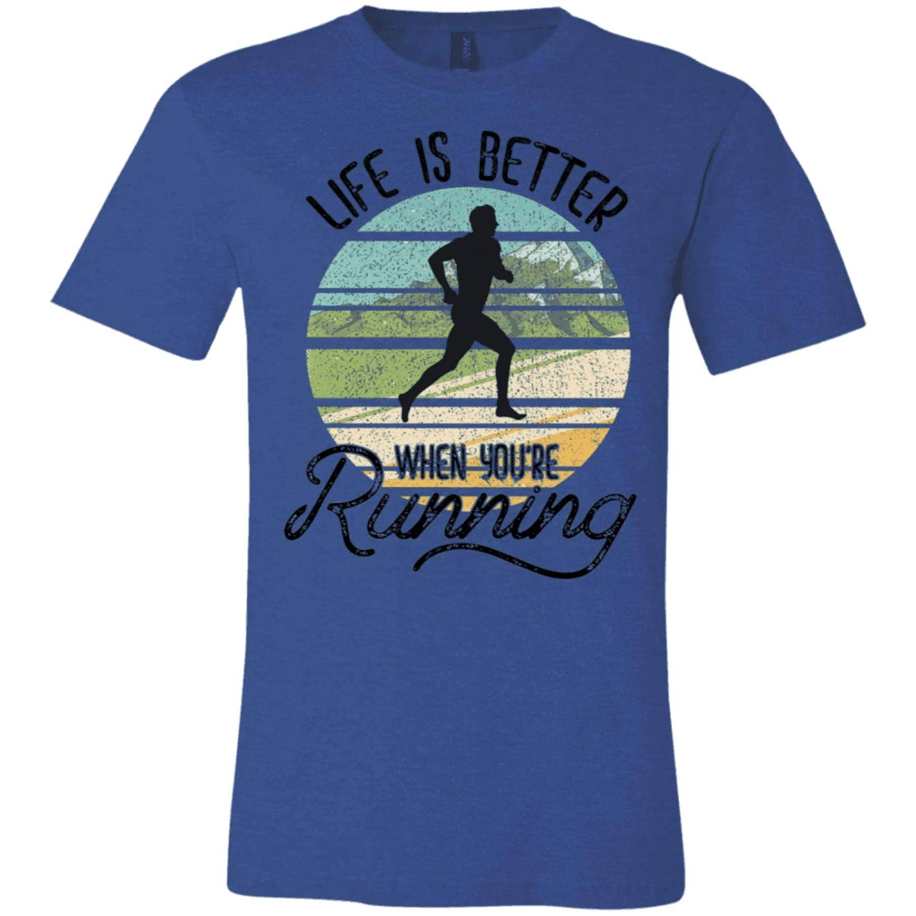 Life is Better When You're Running Tee.
