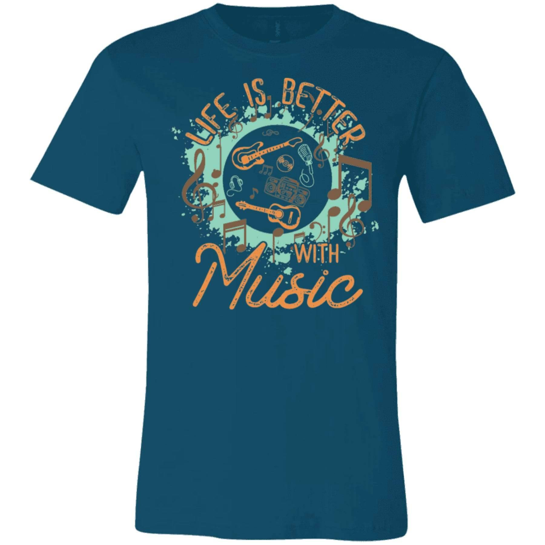 Life is Better With Music Tee.