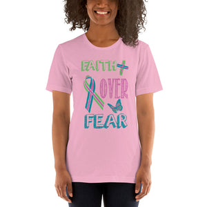 Faith Over Fear - Metastatic Cancer Awareness Tee.