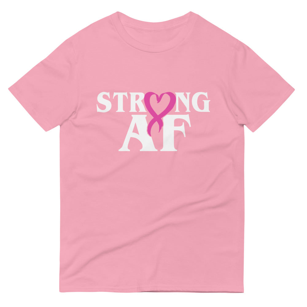 Strong AF - October Breast Cancer Awarenss T-Shirt