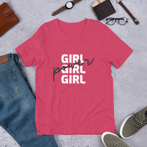 Girl Girl Girl Power - Positive Women Tees