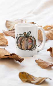 Pumpkin Fall Mug 15oz & 11oz