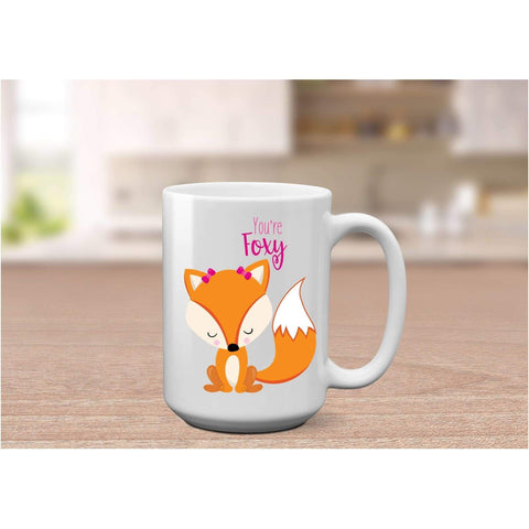 Image of Oh For Fox Sake Coffee Mug. (1695566692446)