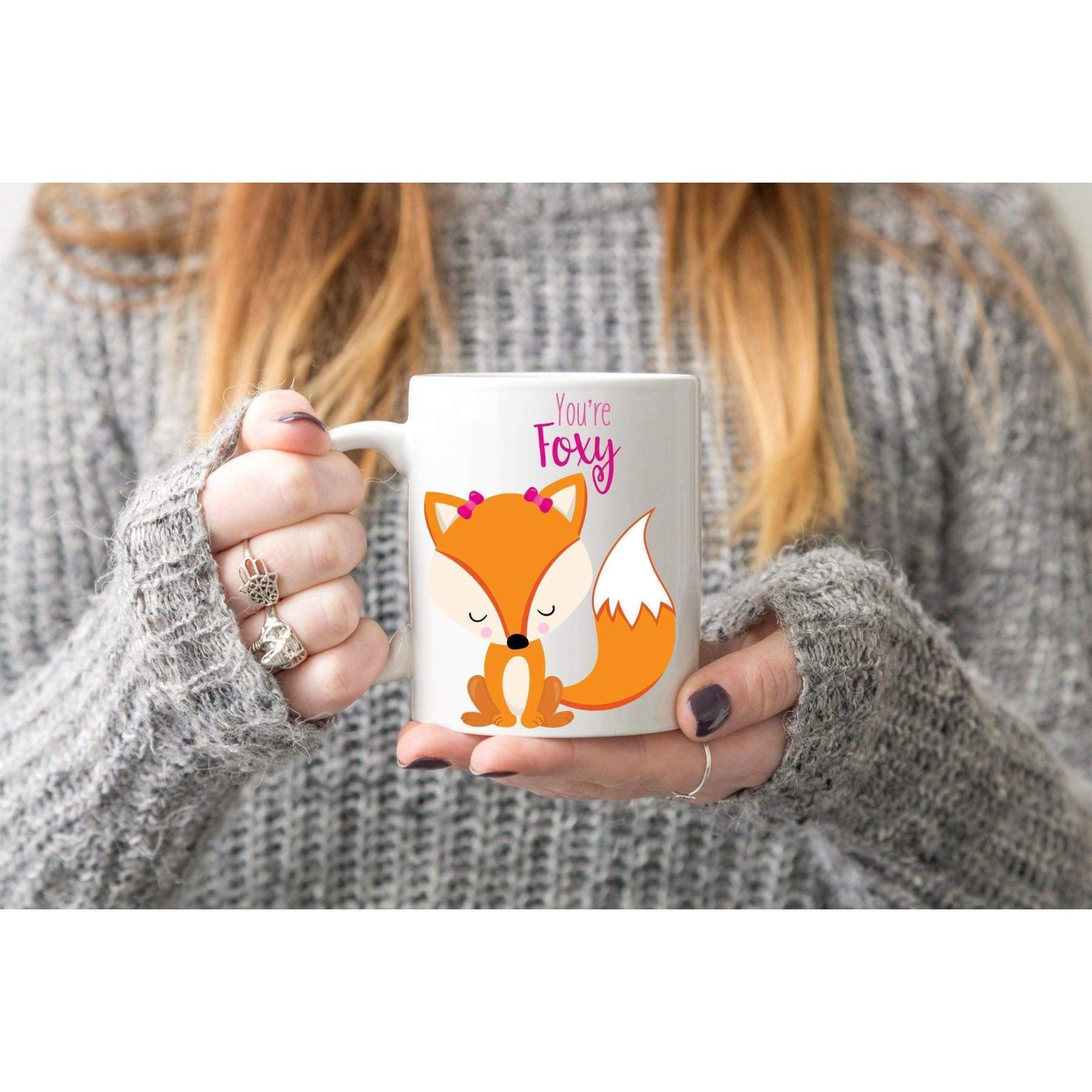 Rude Mugs - Oh For Fox Sake Coffee Mug..