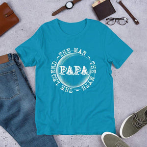 Papa - The Man The Myth The Legend Tee. (3625081634910)