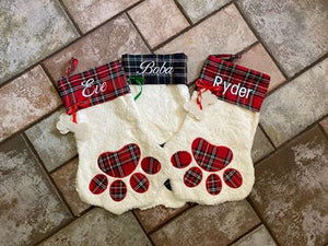 Personalized Pet Stocking, Pet Christmas Stocking. (4307777355870)