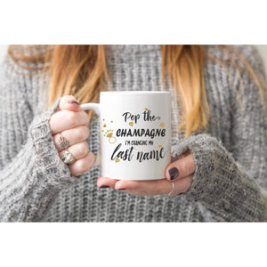 Pop the Champagne Coffee mug.