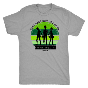 They Can't Stop Us All- Area 51 - Couple's Tee