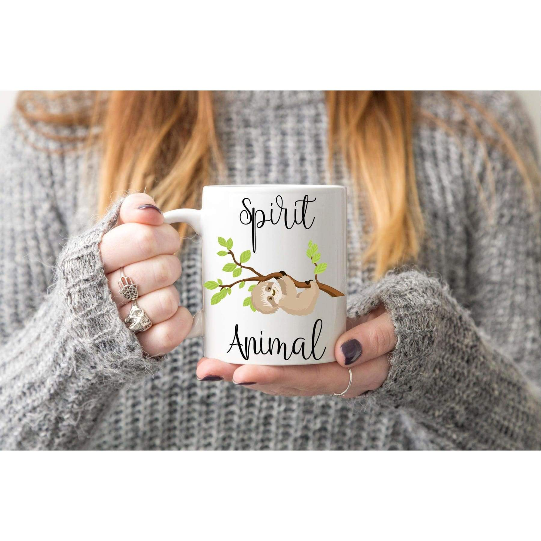 Spirit Animal Sloth Mug.
