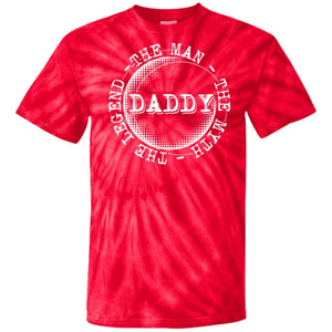 The Man The Myth The Legend-Daddy Tie Dye Tee.