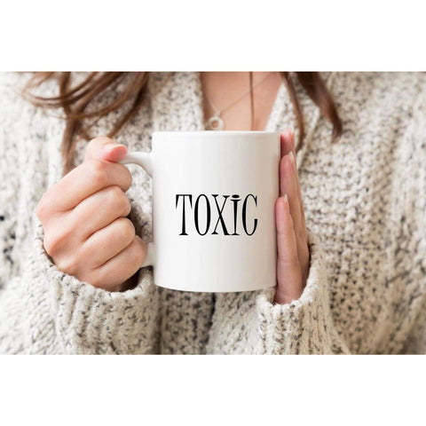Toxic, Funny Mug Coffee Mug.-Mature Adult-iStitchDezigns (1695566004318)