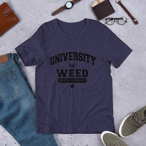 University Of Weed, Higher Learning Tee.