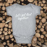 Bodysuit 0-24 months - Let's get lost together