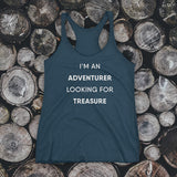 TANK TOP - I'm an adventurer looking for treasure