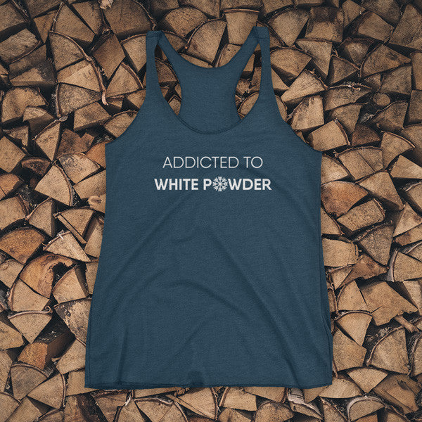 TANK TOP - Addicted to white powder