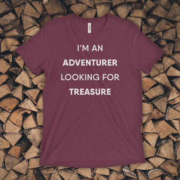 TEE - I'm an adventurer looking for treasure