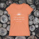 LADIES TEE - Chasing Sunsets