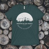 TEE - Breathe in the World, Breathe out adventure