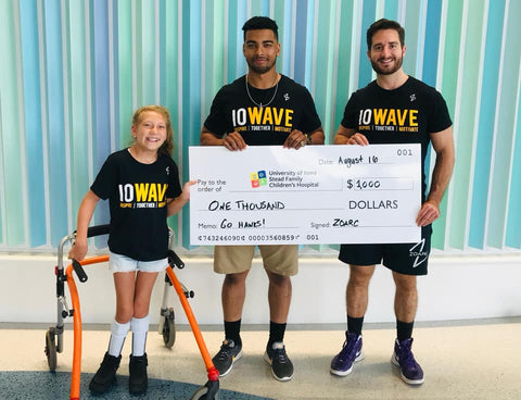 ZOARC IOWAVE Donation #5 To The Stead Family Children's Hospital