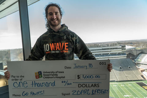 ZOARC IOWAVE Donation #4 To Stead Family Children's Hospital