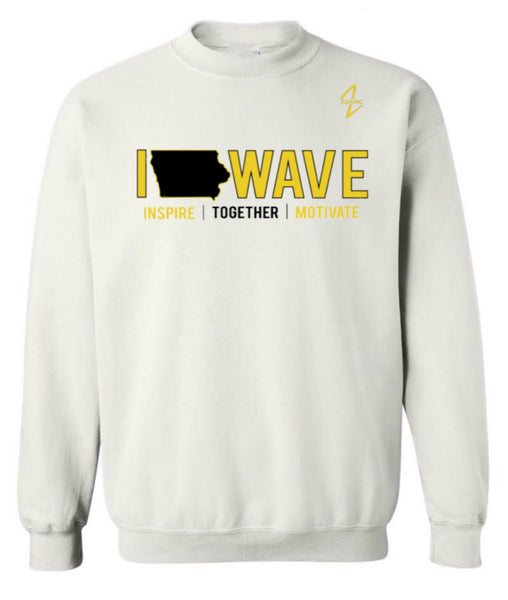 NEW 2020 IOWAVE CREW NECK SWEATSHIRT-3 Colors Available (Pre-Order)
