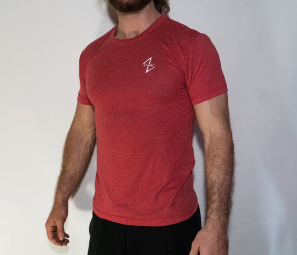 Triblend Tee-Red