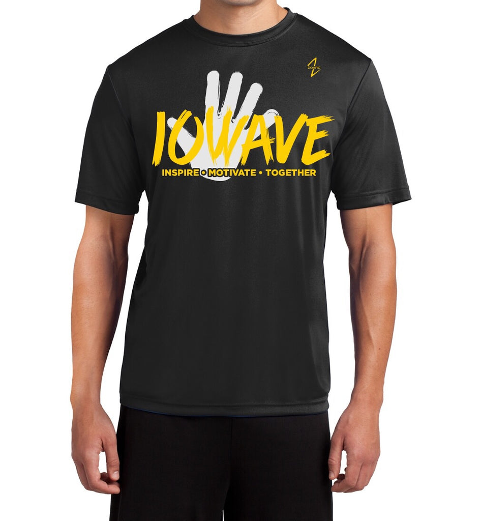 IOWAVE Men's Hand Tee-Performance (NEW 2019)