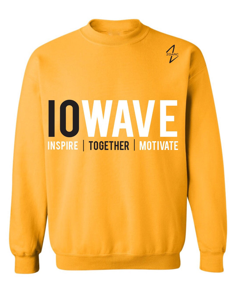 IOWAVE Crew Neck Sweatshirt-Gold