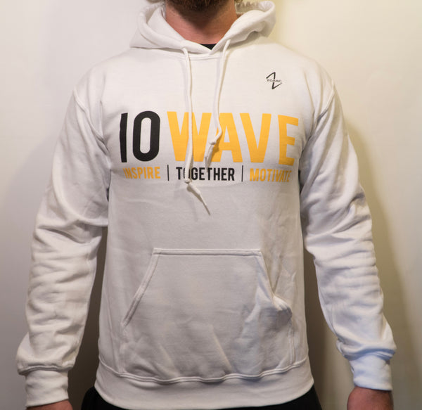 IOWAVE Hoodie-White