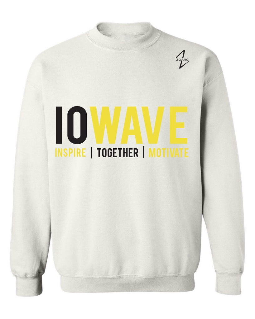 IOWAVE Crew Neck Sweatshirt-White