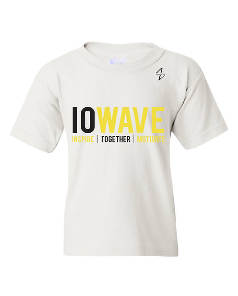 IOWAVE Youth Short Sleeve Tee-White