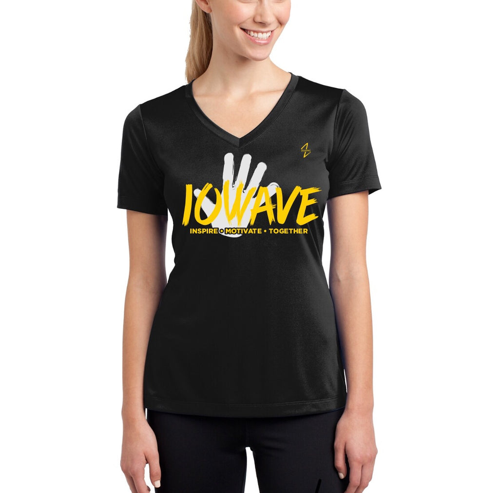 IOWAVE Women's Hand Tee-Performance (NEW 2019)