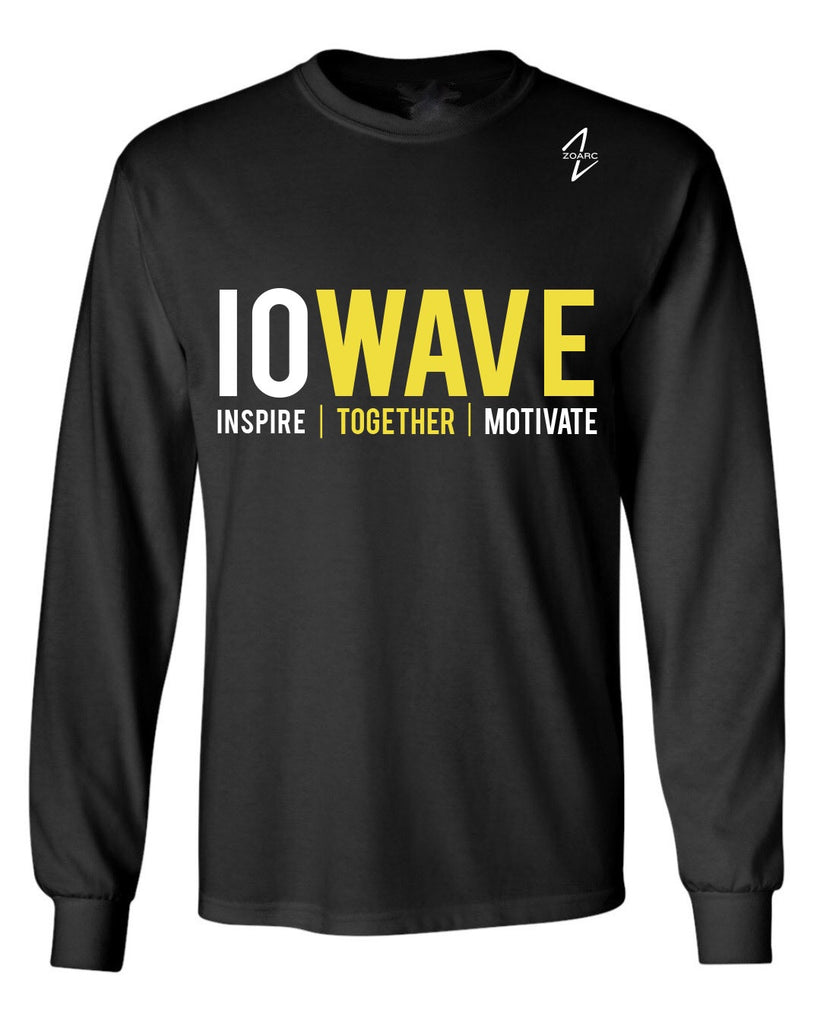 IOWAVE Long Sleeve (Cotton)-Black