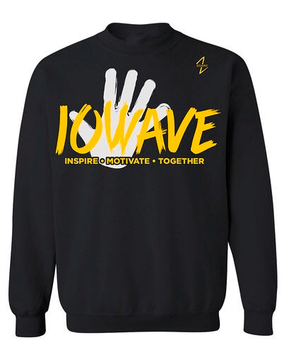 IOWAVE Hand Crew Neck Sweatshirt (NEW 2019)