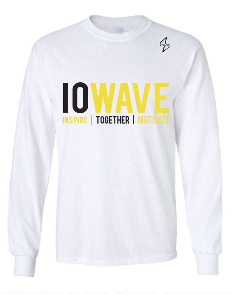 IOWAVE Long Sleeve (Cotton)-White