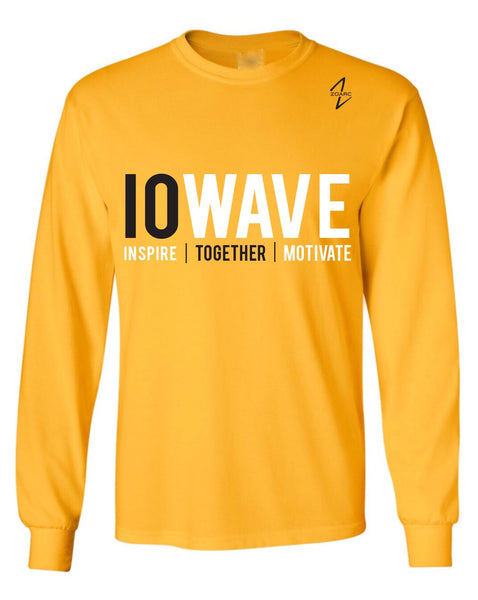 IOWAVE Long Sleeve (Cotton)-Gold