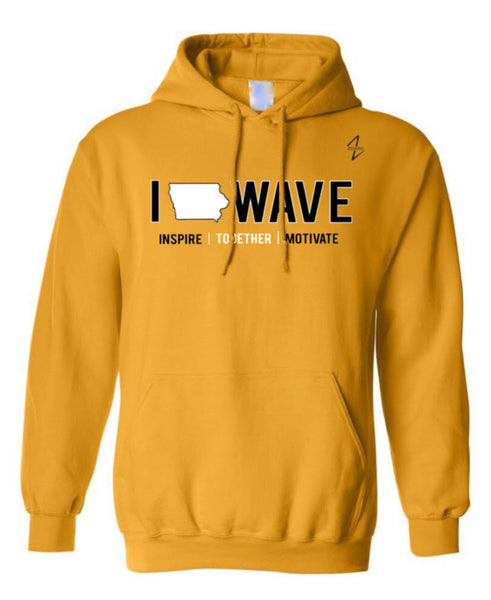 NEW 2020 IOWAVE HOODIE-3 Colors Available (Pre-Order)