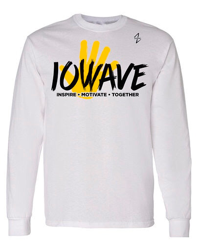 IOWAVE Long Sleeve Hand Tee-Cotton (NEW 2019)