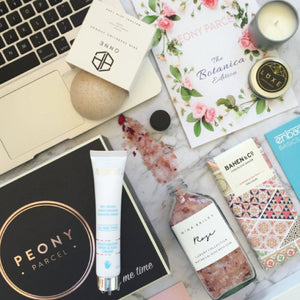 Peplum and Prosecco reviews the Botanica Edition Peony Parcel