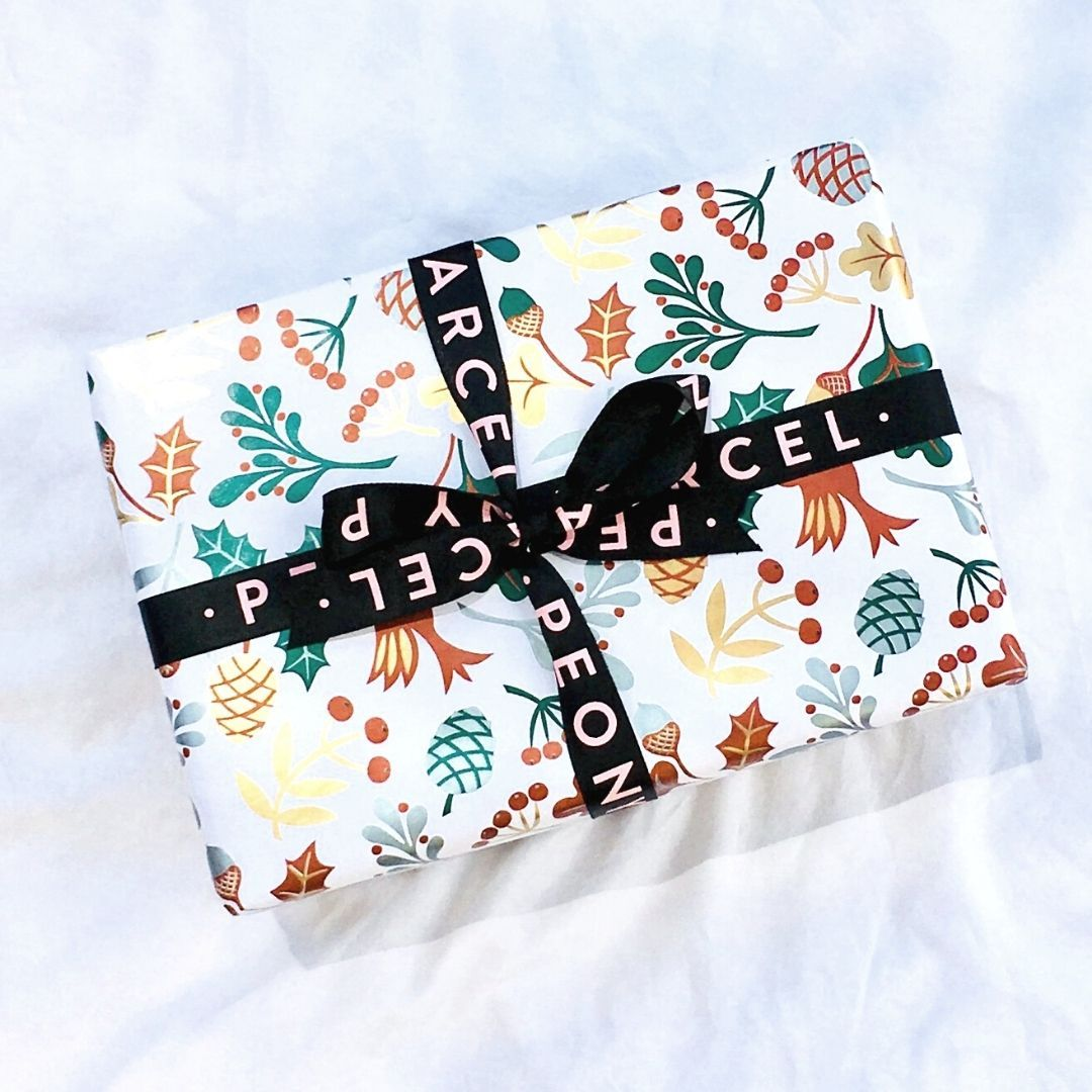 CHRISTMAS WRAPPED MYSTERY PEONY PARCEL - VALUED AT $100+
