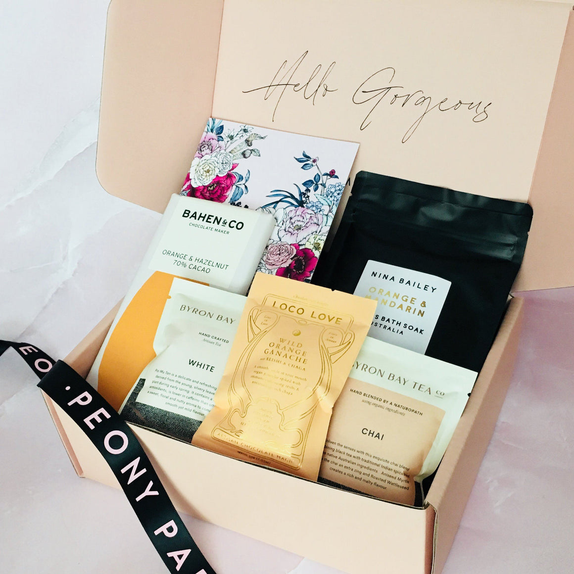 SUMMER CITRUS BLISS PAMPER HAMPER GIFT BOX