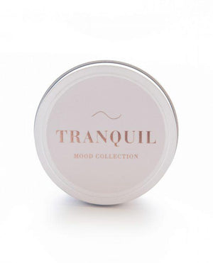 TRANQUIL TRAVEL CANDLE - VANILLA AND OUD WOOD 80g