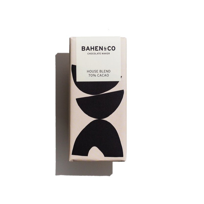 BAHEN & CO HOUSE BLEND CHOCOLATE BLOCK 75g