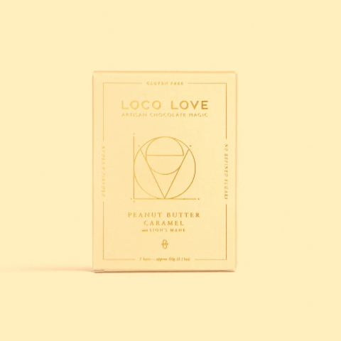 LOCO LOVE CHOCOLATE - PEANUT BUTTER CARAMEL TWIN PACK