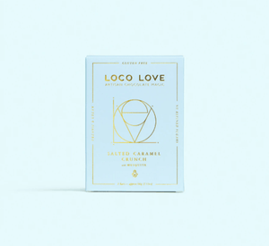 LOCO LOVE CHOCOLATE - SALTED CARAMEL CRUNCH TWIN PACK