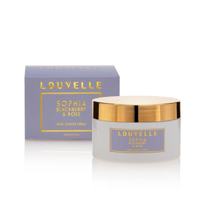 LOUVELLE SOPHIA BLACKBERRY & ROSE BODY SOUFFLE CREME