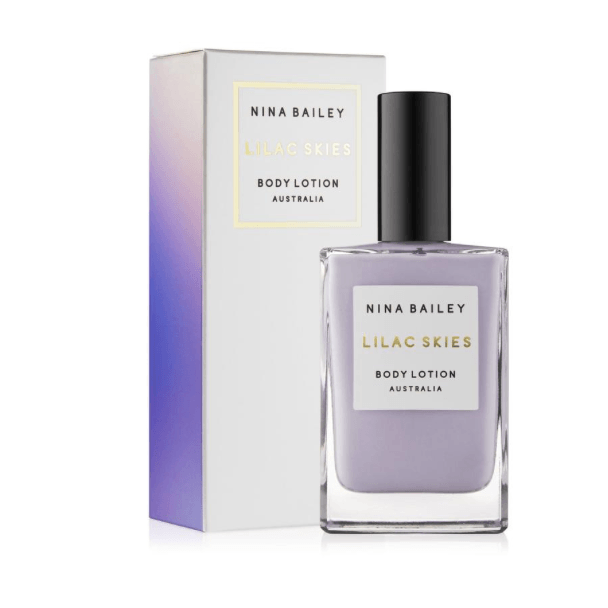 NINA BAILEY LILAC SKIES BODY LOTION - 100ml