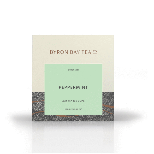PEPPERMINT TEA LEAF BOX