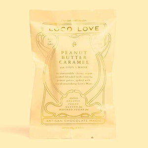 LOCO LOVE CHOCOLATE - PEANUT BUTTER CARAMEL 30g